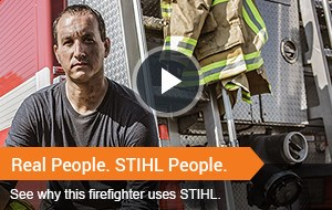 Watch Video - Real People. STIHL People.